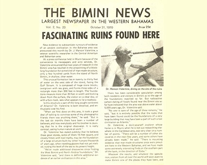 Bimini History